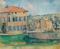 Show The House in Aix (Jas de Bouffan), 1885-1887 details