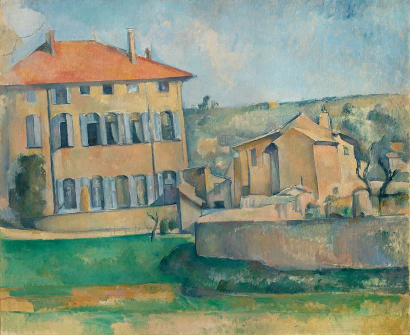 Picture for The House in Aix (Jas de Bouffan), 1885-1887