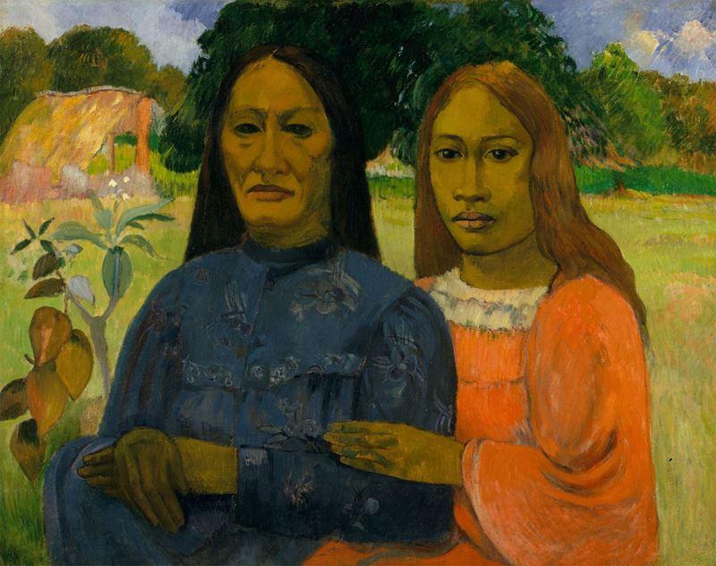İki Kadın, 1901-1902 resmi