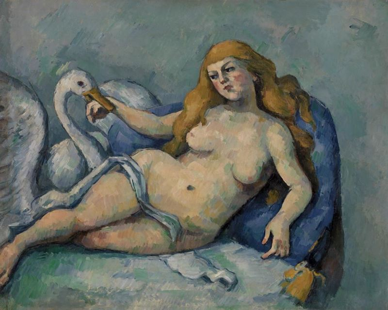 Picture for Leda and the Swan, c. 1880