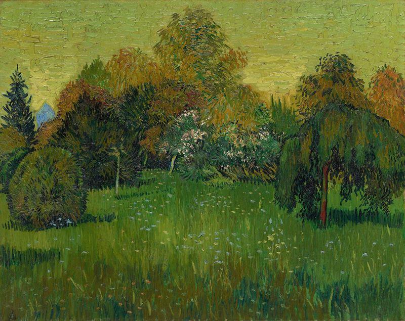 Şairin Bahçesi, 1888 resmi