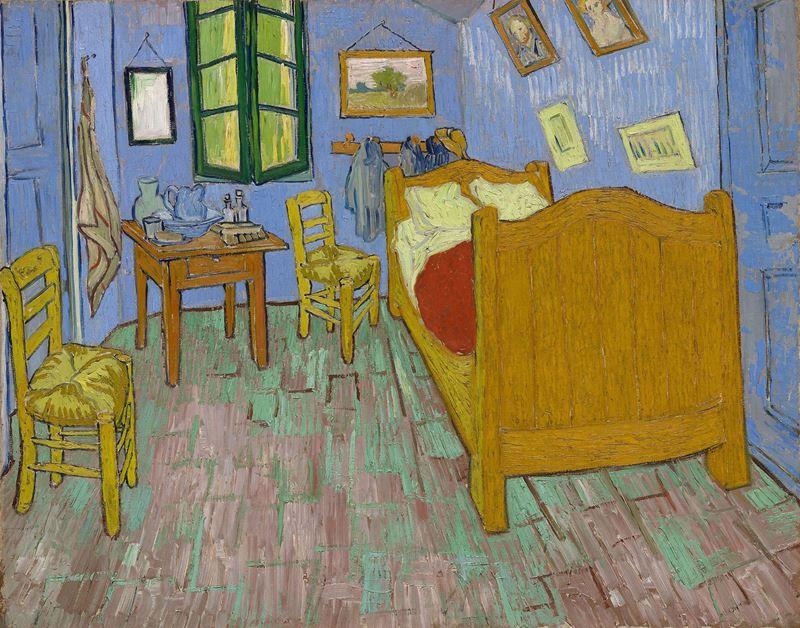 Yatak Odası, 1889 resmi
