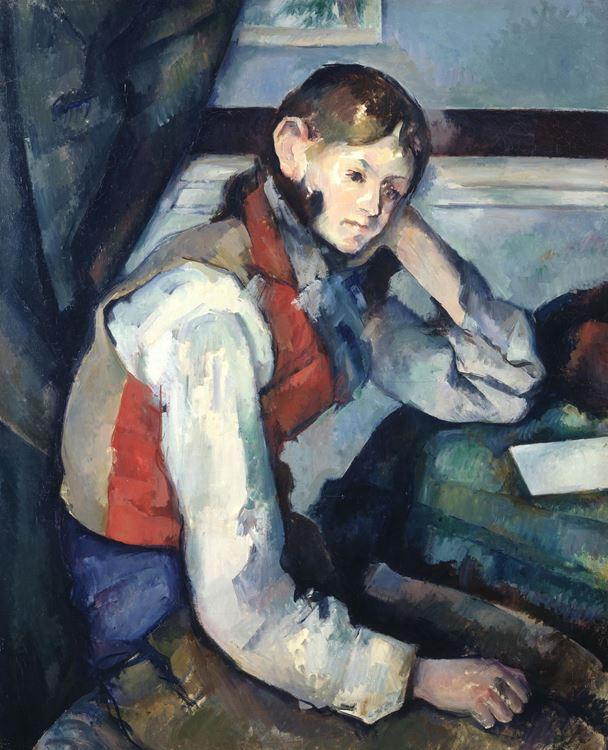 Kırmızı Yelekli Çocuk, 1888-1890 dolayları picture