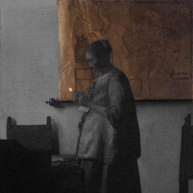 Mektup Okuyan Kadın, 1663 dolayları picture