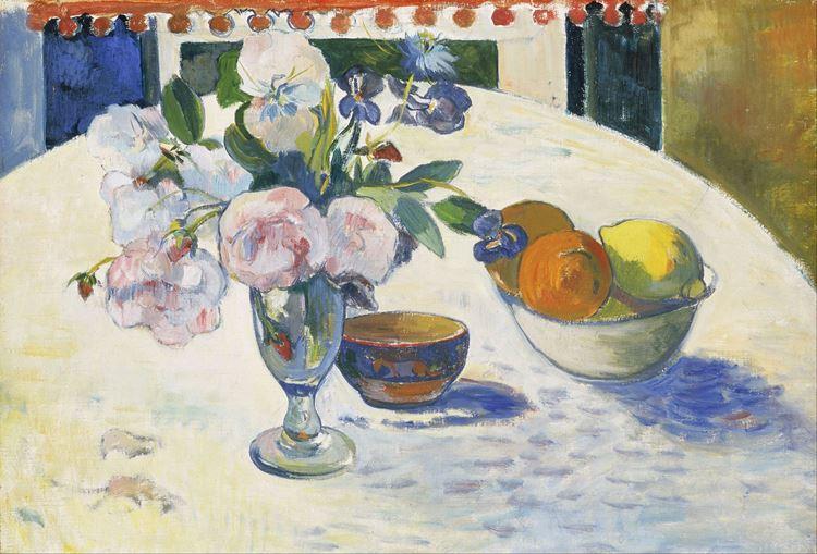 Masada Bir Kase Meyve ve Çiçekler, 1894 picture