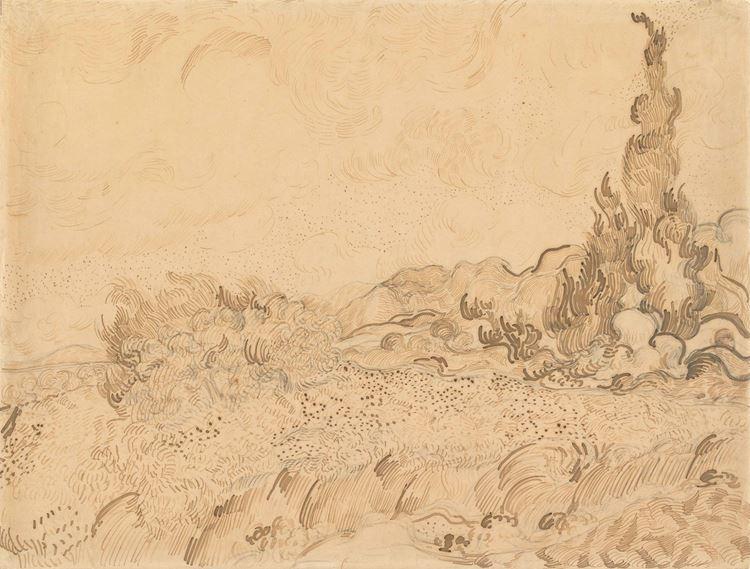 Selvili Buğday Tarlası, 1889 picture
