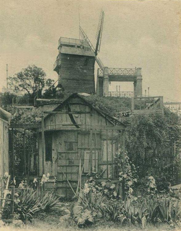 Moulin de la Galette, 1886 picture