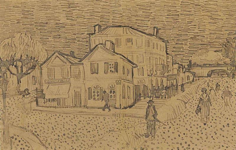 Sarı Ev, 1888 resmi