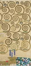 Show Sketch for Stoclet Frieze, Part 7, The Tree of Life, 1910-1911 details