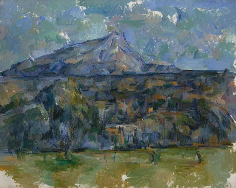 Sainte-Victoire Dağı, 1902-1906 resmi
