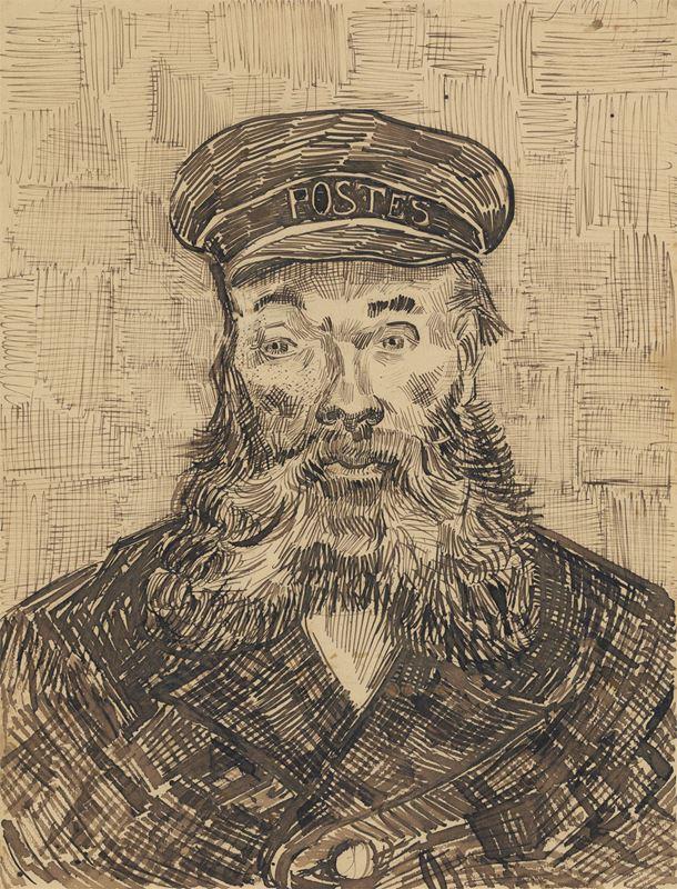 Joseph Roulin'in Portresi, 1888 resmi