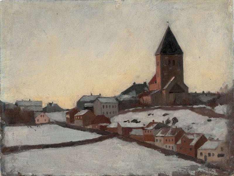 Eski Aker Kilisesi, 1881 resmi