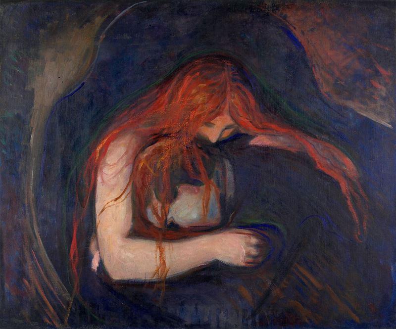 Vampir (Aşk ve Acı), 1895 resmi