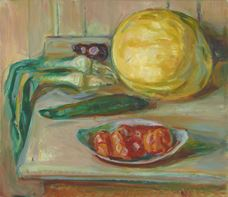 Show Still Life with Pumpkin and other Vegetables, 1926-1930 details