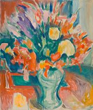Show Flowers in a Vase, 1919-1920 details