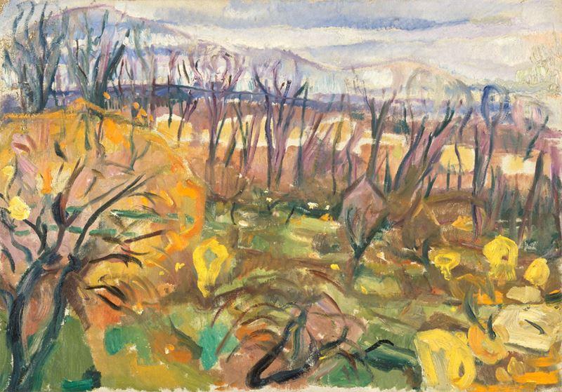 Sonbahar Renkleri, 1916-1920 resmi