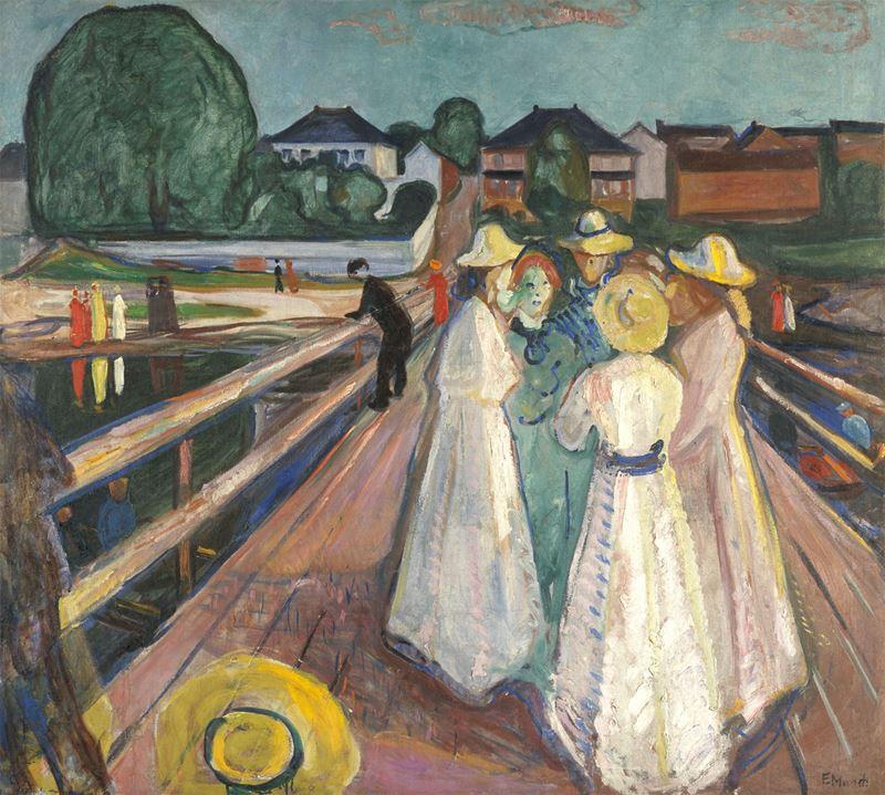 Köprüdeki Kadınlar, 1904-1927 resmi