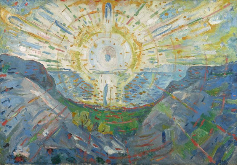 Güneş, 1912 resmi