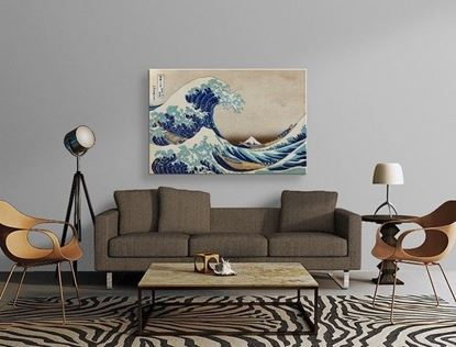 Hokusai - Kanagawa'nın Büyük Dalgası – Kanvas Tablo