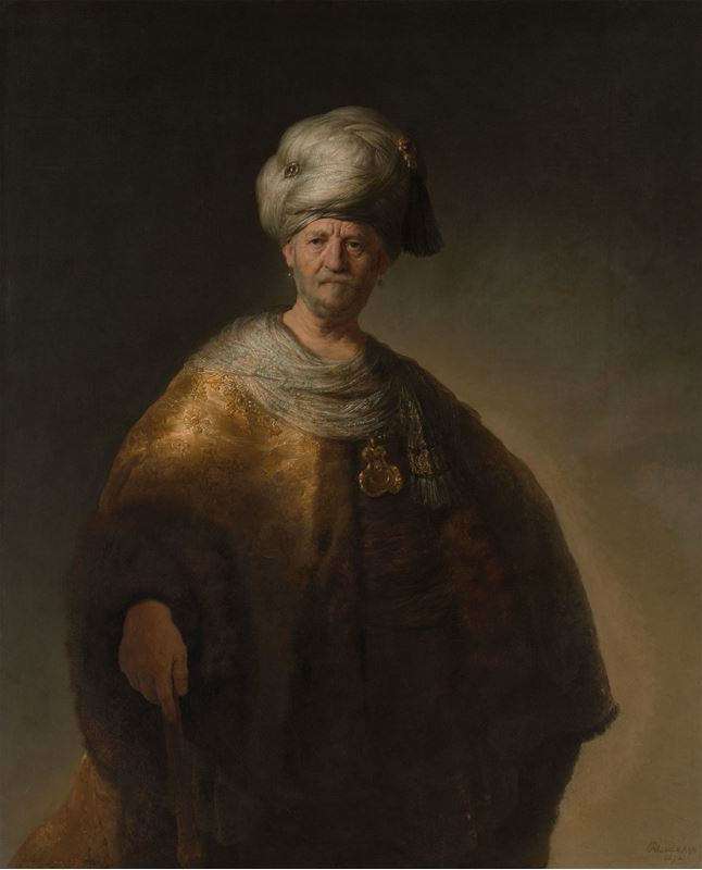 Oryantal Kostümlü Adam, 1632 resmi