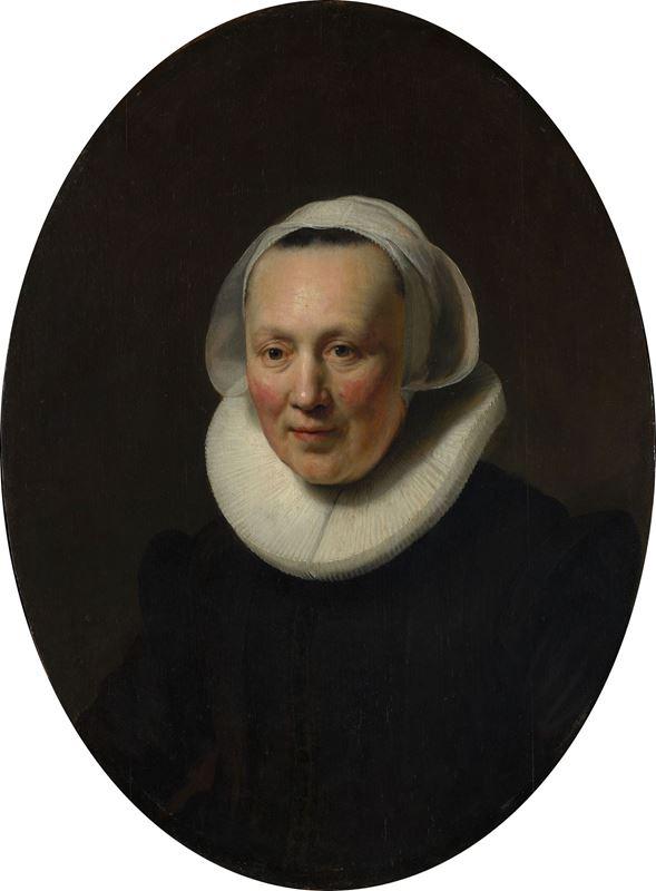 Bir Kadının Portresi, 1633 resmi