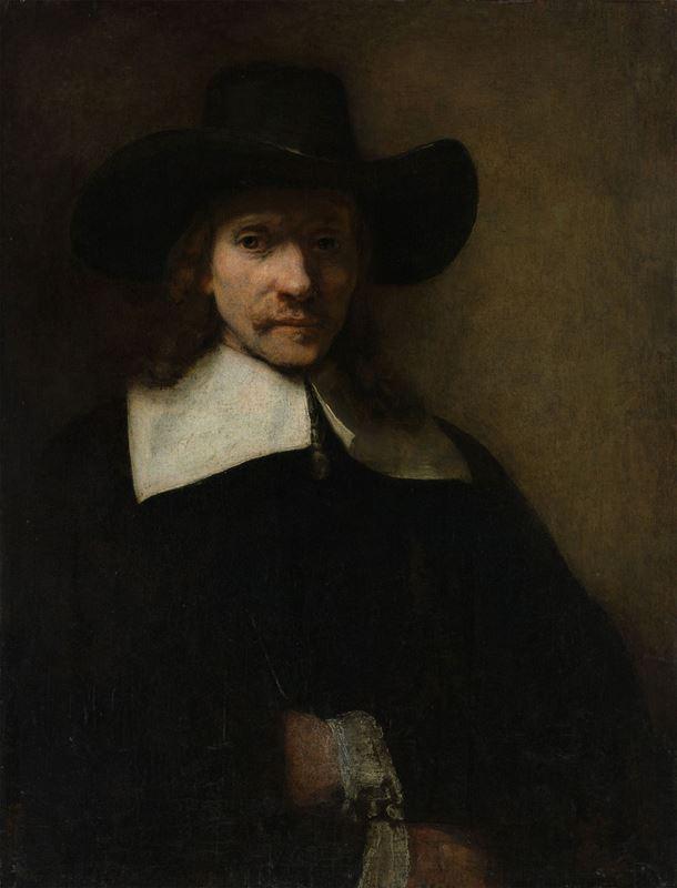 Bir Adamın Portresi, 1605-1660 resmi