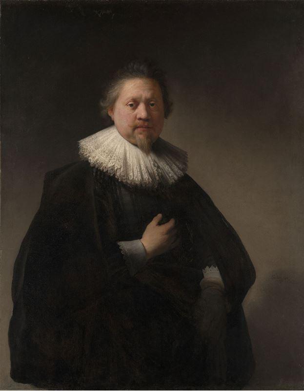 Bir Adamın Portresi (Van Beresteyn Aile Üyesi?), 1632 resmi