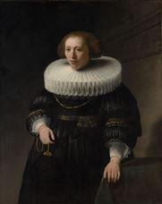 Bir Kadının Portresi (Van Beresteyn Aile Üyesi?), 1632
