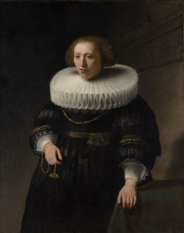 Bir Kadının Portresi (Van Beresteyn Aile Üyesi?), 1632 resmi