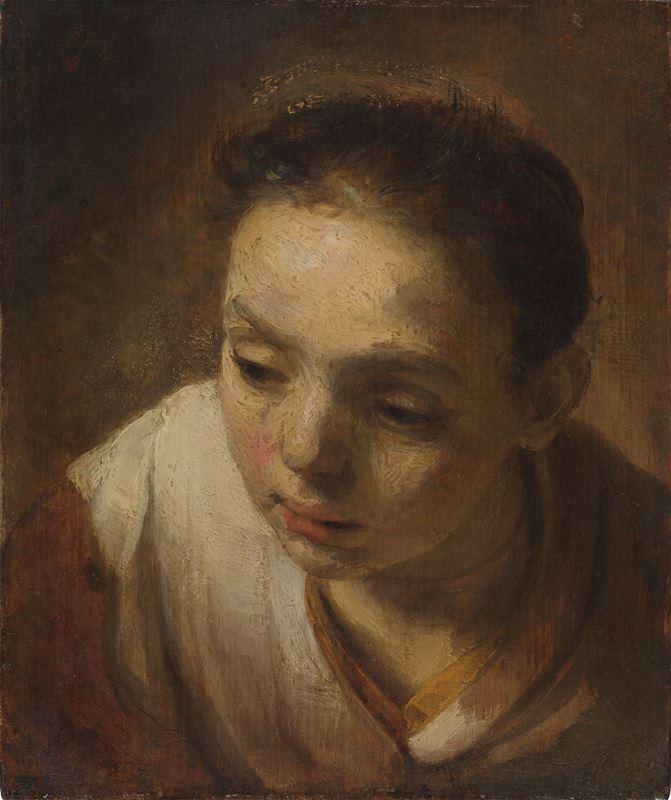 Bir Kızın Başı, 1645 dolayları resmi
