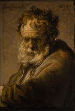 Sakallı Bir Yaşlı Adam Büstü, 1633