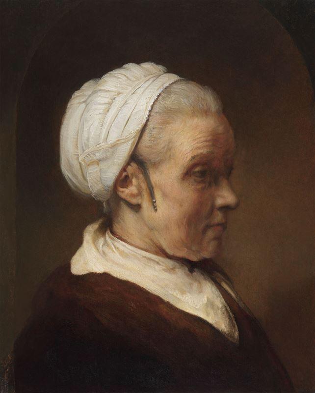 Beyaz Başlıklı Bir Kadın Çalışması, 1640 dolayları resmi
