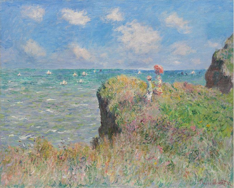 Picture for Cliff Walk at Pourville, 1882