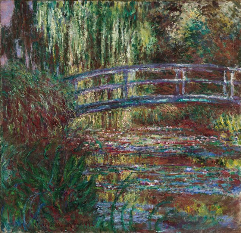 Picture for The Water Lily Pond, 1900