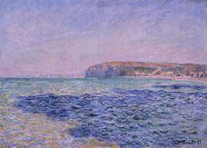 Denizdeki Gölgeler. Pourville'deki Kayalıklar, 1882