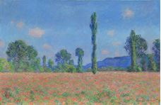 Show Poppy Field (Giverny), 1890-1891 details