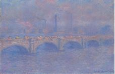 Show Waterloo Bridge, Sunlight Effect, 1903 details