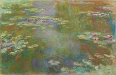 Show The Water Lily Pond, 1917-1919 details
