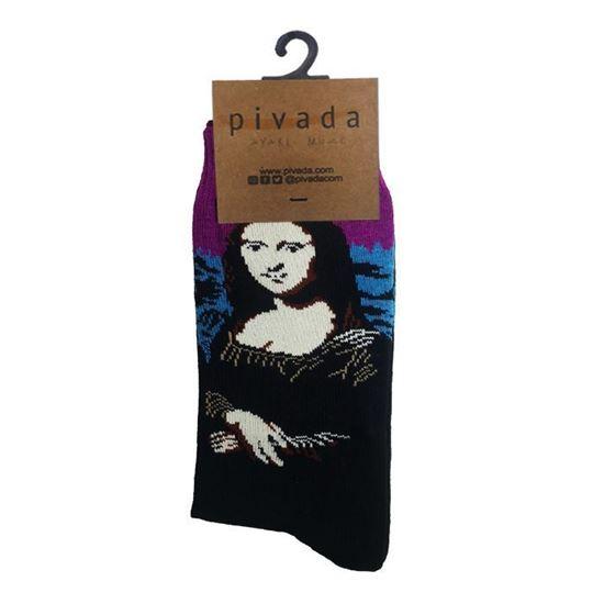 Da Vinci - Mona Lisa - Çorap