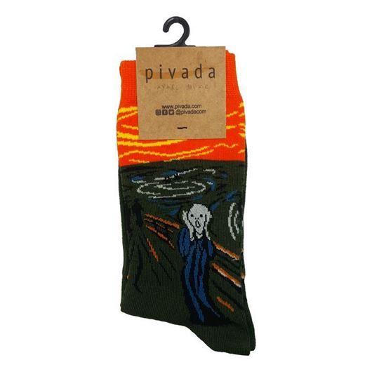 Munch - Çığlık - Çorap