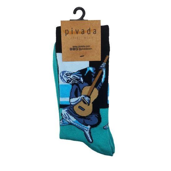 Picasso - Yaşlı Gitarcı - Çorap