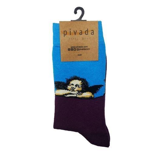 Raffaello - Sistin Meryemi Melekleri - Çorap