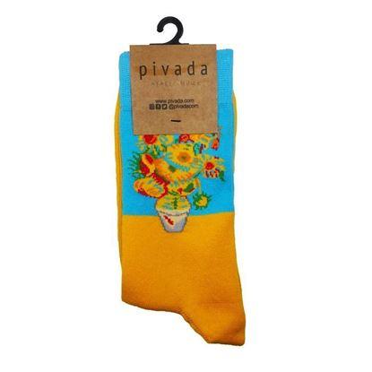 Van Gogh - Ayçiçekleri - Çorap