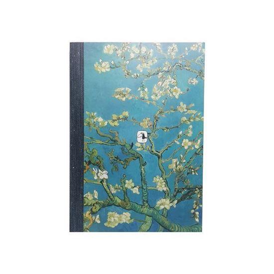 Van Gogh - Çiçek Açan Badem Ağacı - Defteri