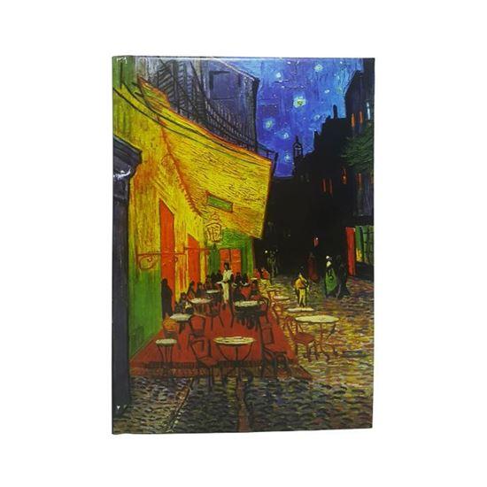 Van Gogh - Kafe Teras'ta Gece - Orta Boy Defter