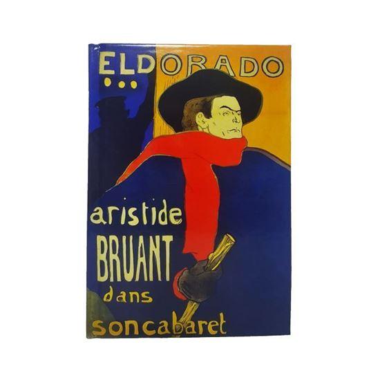 Lautrec - Eldorado Aristide Bruant Kabaresinde - Orta Boy Defter