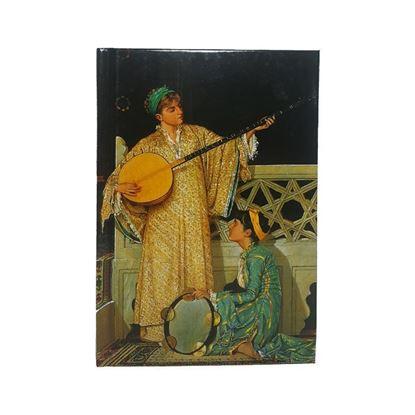 Osman Hamdi Bey - İki Müzisyen Kız- Orta Boy Defter