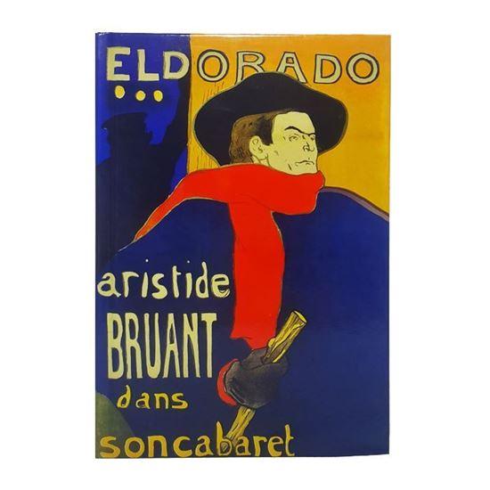 Lautrec - Eldorado Aristide Bruant Kabaresinde - Büyük Boy Defter