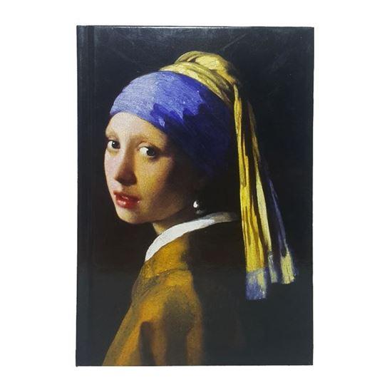 Vermeer - İnci Küpeli Kız - Büyük Boy Defter