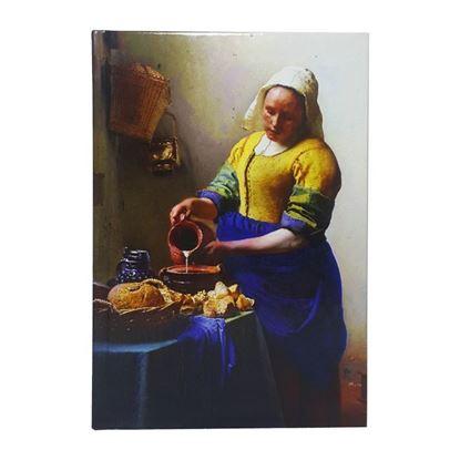 Vermeer - Sütçü Kız - Büyük Boy Defter